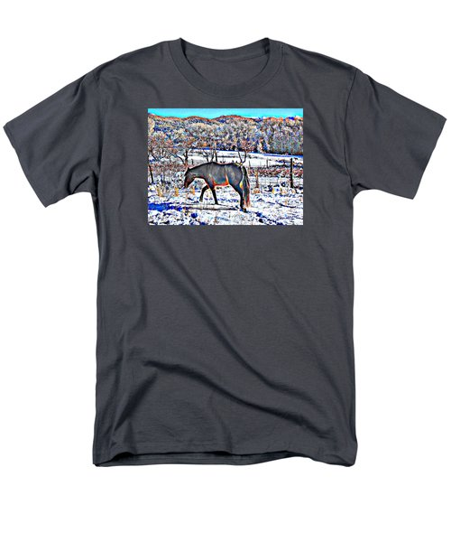 Christmas Roan El Valle II Men's T-Shirt  (Regular Fit) by Anastasia Savage Ealy