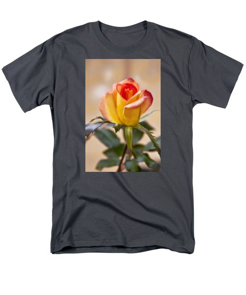 Men's T-Shirt  (Regular Fit) featuring the photograph Christmas Rose by Joan Bertucci