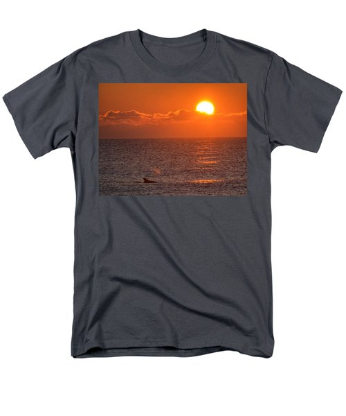 Christmas Sunrise On The Atlantic Ocean Men's T-Shirt  (Regular Fit) by Sumoflam Photography