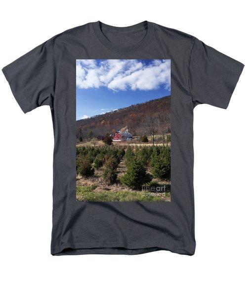 Christmas Tree Shopping Men's T-Shirt  (Regular Fit) by Nicki McManus