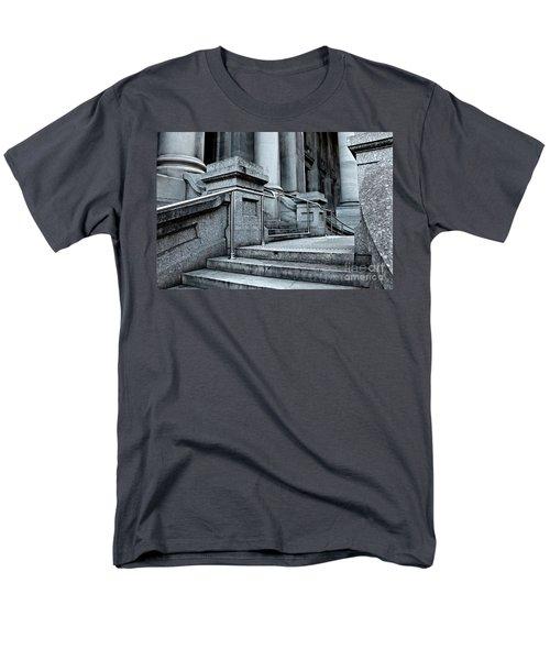 Chrome Balustrade Men's T-Shirt  (Regular Fit) by Stephen Mitchell