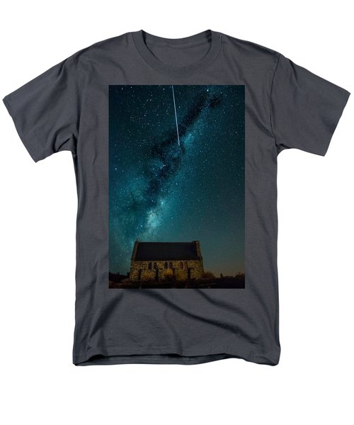 Church Of The Good Shepherd Men's T-Shirt  (Regular Fit) by Martin Capek