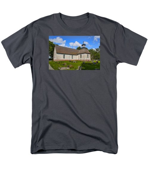 Men's T-Shirt  (Regular Fit) featuring the photograph Church Teda Sw by Leif Sohlman