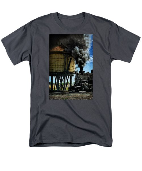 Men's T-Shirt  (Regular Fit) featuring the photograph Cinders And Water by Ken Smith