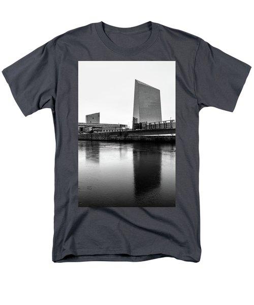 Men's T-Shirt  (Regular Fit) featuring the photograph Cira Centre - Philadelphia Urban Photography by David Sutton