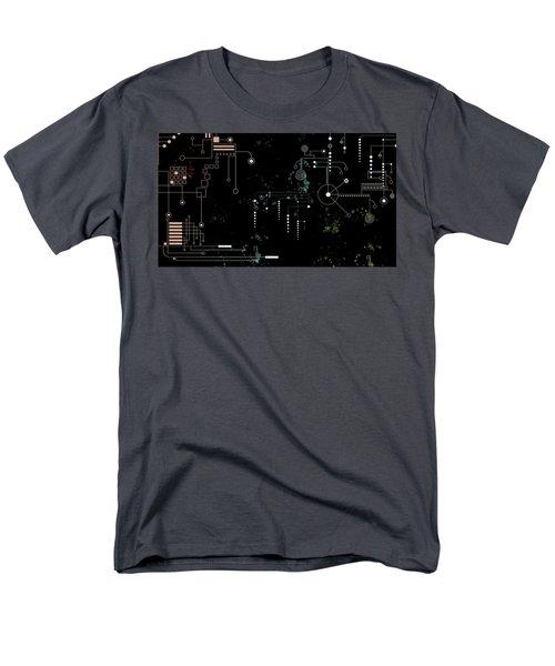 Circuit Board Men's T-Shirt  (Regular Fit) by Carol Crisafi