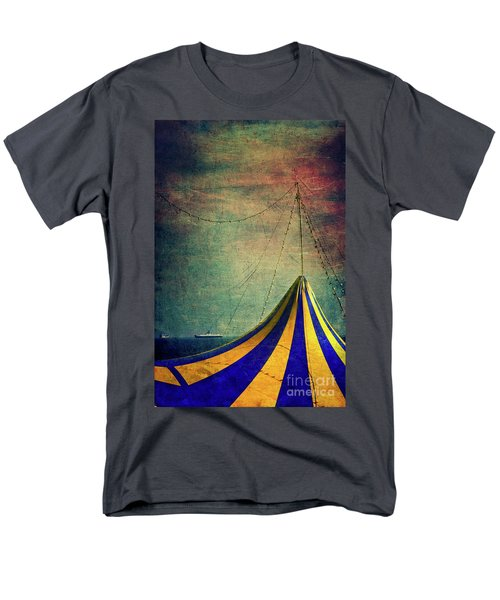 Circus With Distant Ships II Men's T-Shirt  (Regular Fit) by Silvia Ganora
