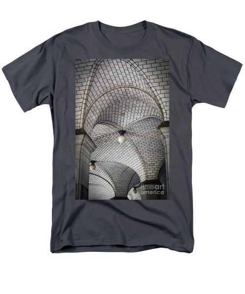 Men's T-Shirt  (Regular Fit) featuring the photograph City Hall Ceilings by Judy Wolinsky