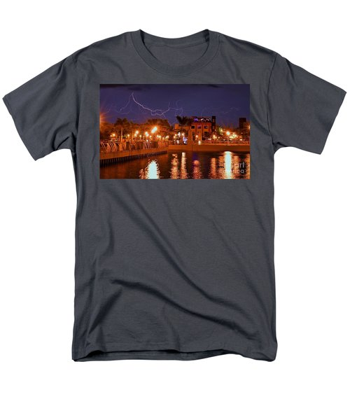 City Storm Men's T-Shirt  (Regular Fit) by Quinn Sedam