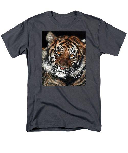 CJ Men's T-Shirt  (Regular Fit) by Linda Becker
