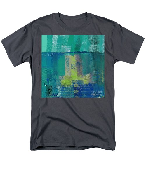Men's T-Shirt  (Regular Fit) featuring the digital art Classico - S03c04 by Variance Collections