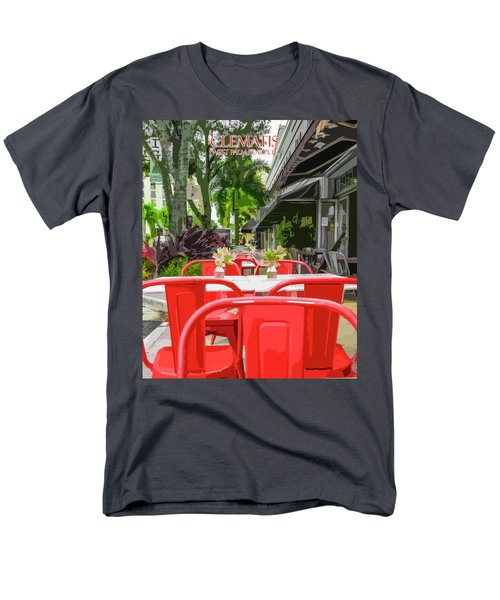 Clematis By Day Men's T-Shirt  (Regular Fit) by Josy Cue