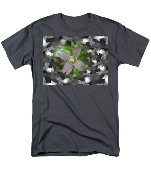 Men's T-Shirt  (Regular Fit) featuring the photograph Clematis by Keith Elliott