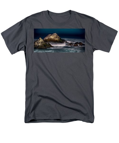 Cliff House San Francisco Seal Rock Men's T-Shirt  (Regular Fit) by Steve Siri