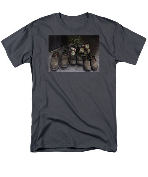 Men's T-Shirt  (Regular Fit) featuring the photograph Clodhoppers by Kandy Hurley