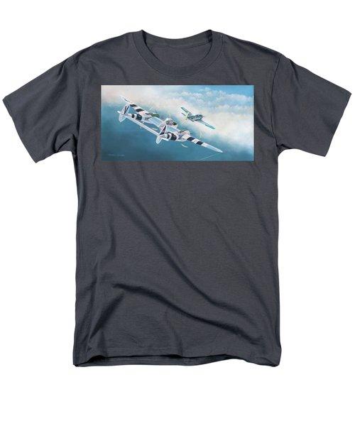Close Encounter With A Focke-wulf Men's T-Shirt  (Regular Fit) by Douglas Castleman