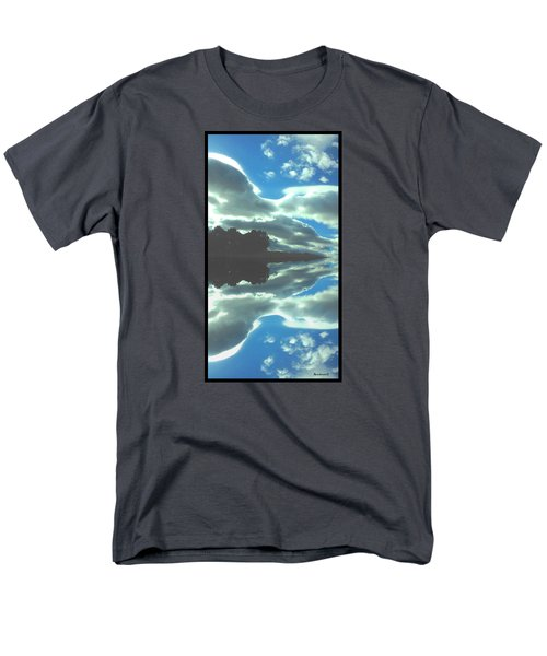 Cloud Drama Reflections Men's T-Shirt  (Regular Fit) by Anastasia Savage Ealy