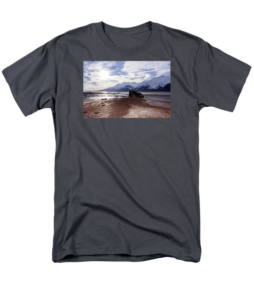Cloud Shadows At Low Tide. Men's T-Shirt  (Regular Fit) by Michele Cornelius