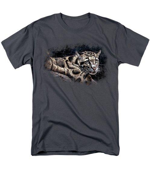 Leopard Men's T-Shirt  (Regular Fit) by David Millenheft