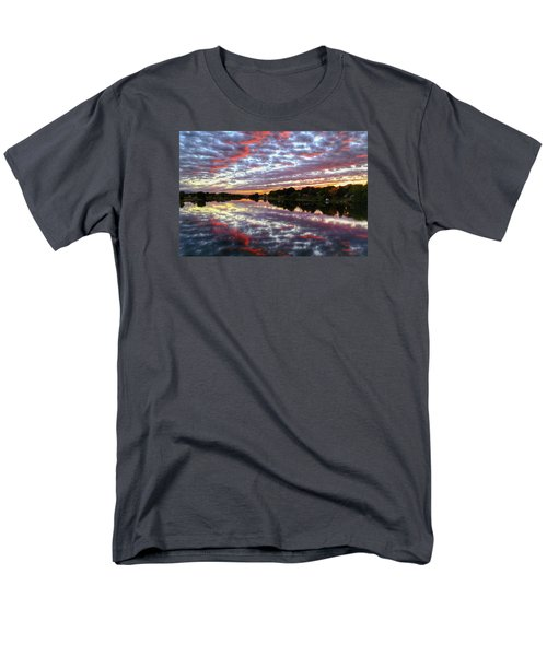 Men's T-Shirt  (Regular Fit) featuring the photograph Clouds And More by Lynn Hopwood