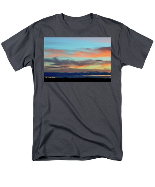 Clouds At Different Altitudes  Men's T-Shirt  (Regular Fit) by Lyle Crump
