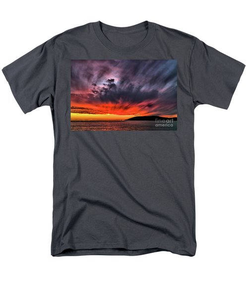 Men's T-Shirt  (Regular Fit) featuring the photograph Clouds In Motion Before The Storm by Vivian Krug Cotton