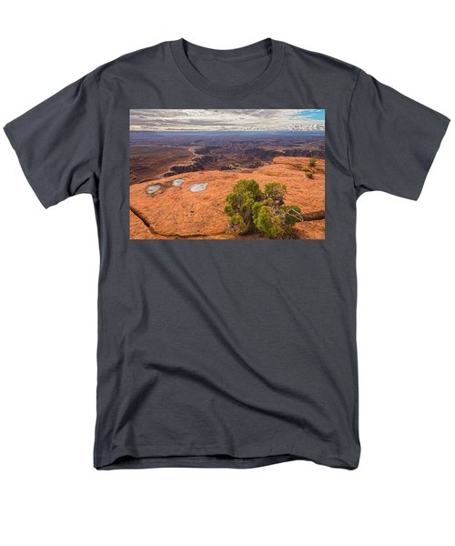 Clouds Junipers And Potholes Men's T-Shirt  (Regular Fit) by Angelo Marcialis
