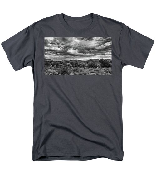 Clouds Over The Superstitions Men's T-Shirt  (Regular Fit) by Monte Stevens