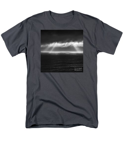 Cloudy Day At The Sae Men's T-Shirt  (Regular Fit) by Gunnar Orn Arnason