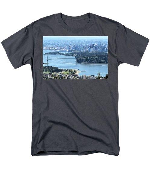 Coal Harbour Men's T-Shirt  (Regular Fit) by Victor K