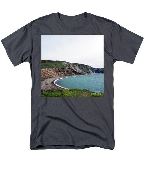 Men's T-Shirt  (Regular Fit) featuring the photograph Coastal Arch by Sebastian Mathews Szewczyk