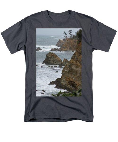 Coastal Storm Men's T-Shirt  (Regular Fit) by Laddie Halupa