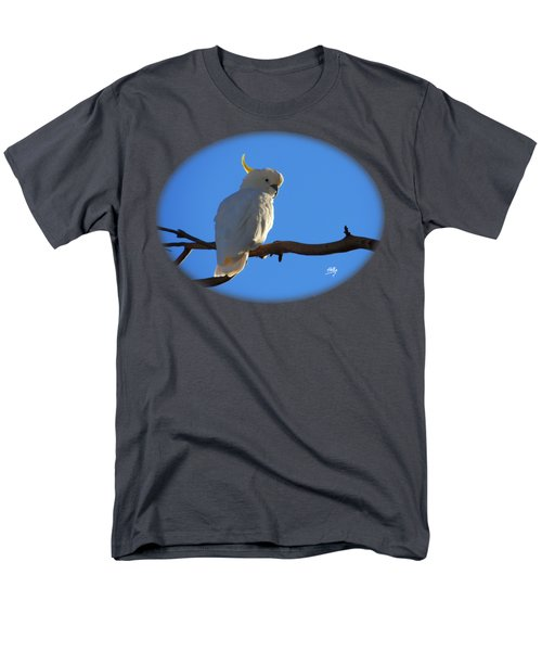 Cockatoo Men's T-Shirt  (Regular Fit) by Linda Hollis
