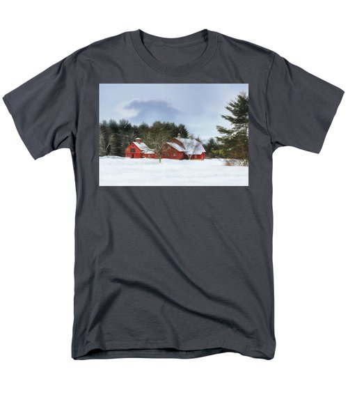 Cold Winter Days In Vermont Men's T-Shirt  (Regular Fit) by Sharon Batdorf