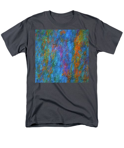 Color Abstraction Xiv Men's T-Shirt  (Regular Fit) by David Gordon