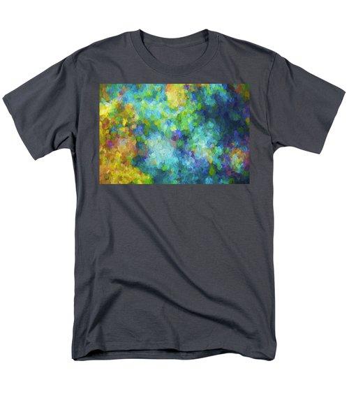 Color Abstraction Xliv Men's T-Shirt  (Regular Fit)