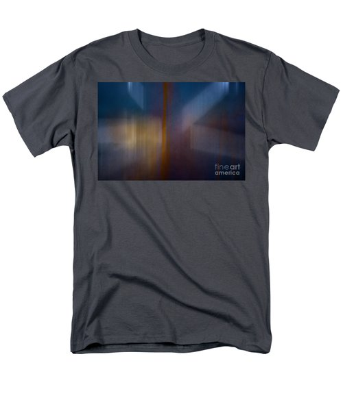 Color Abstraction Xxix Men's T-Shirt  (Regular Fit) by David Gordon