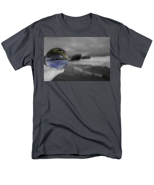 Color Ball Men's T-Shirt  (Regular Fit) by Lora Lee Chapman