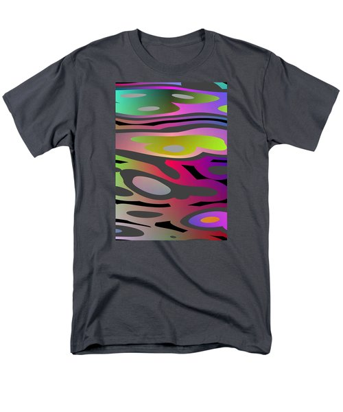 Men's T-Shirt  (Regular Fit) featuring the digital art Color Fun 1 by Jeff Iverson