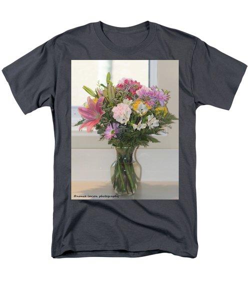 Color Me Happy Men's T-Shirt  (Regular Fit) by Nance Larson