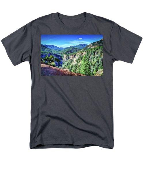 Men's T-Shirt  (Regular Fit) featuring the photograph Colorado Haven by Deborah Klubertanz