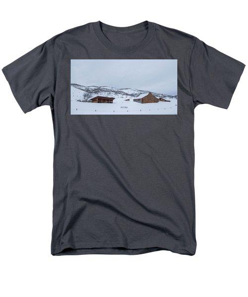 Colorado Ranch Men's T-Shirt  (Regular Fit) by Sean Allen