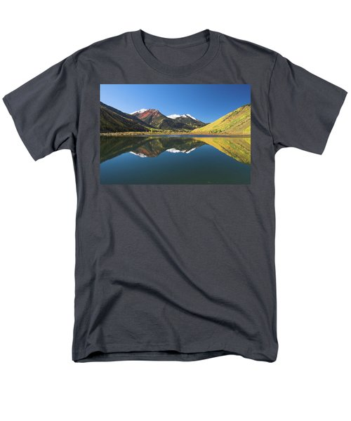 Men's T-Shirt  (Regular Fit) featuring the photograph Colorado Reflections by Steve Stuller