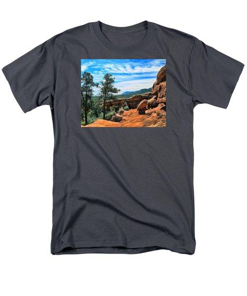 Colorado Rocks Men's T-Shirt  (Regular Fit) by John Bushnell