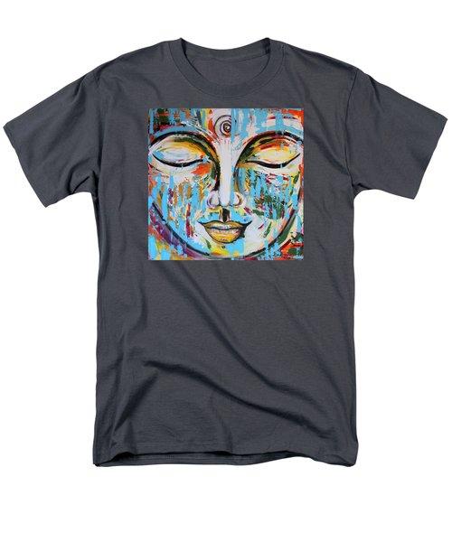 Colorful Buddha Men's T-Shirt  (Regular Fit)