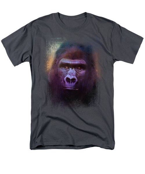 Colorful Expressions Gorilla Men's T-Shirt  (Regular Fit) by Jai Johnson
