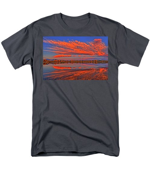 Men's T-Shirt  (Regular Fit) featuring the photograph Colorful Fall Morning by Scott Mahon