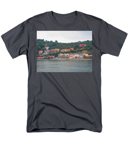 Colors Along The Coast Men's T-Shirt  (Regular Fit) by Christin Brodie