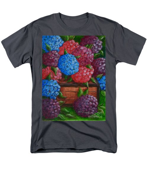 Men's T-Shirt  (Regular Fit) featuring the painting Colors by Melvin Turner