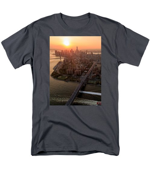 Colors Of Ny Men's T-Shirt  (Regular Fit) by Anthony Fields
